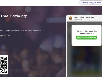 Viber zajednica Opštine Tivat značajan izvor informacija-post_thumbnail