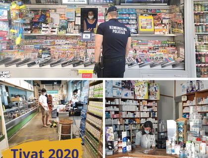 Uprava za inspekcijske poslove Opštine Tivat uručila prekršajni nalog  zbog nenošenja zaštitne maske-post_thumbnail